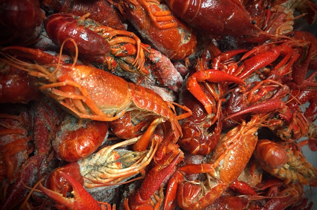 Western Edge Crawfish Prepared